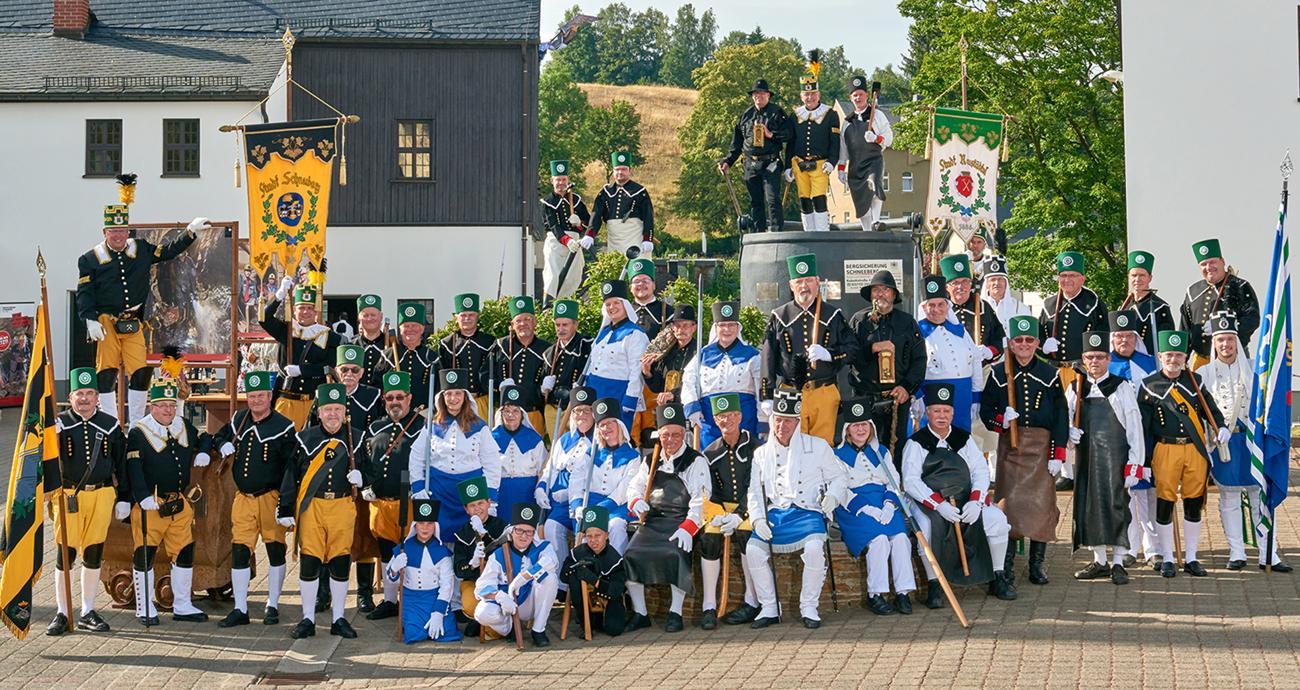 Bergbrüderschaft Schneeberger Bergparaden