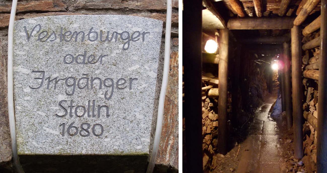 Besucherbergwerk Vestenburger Stolln