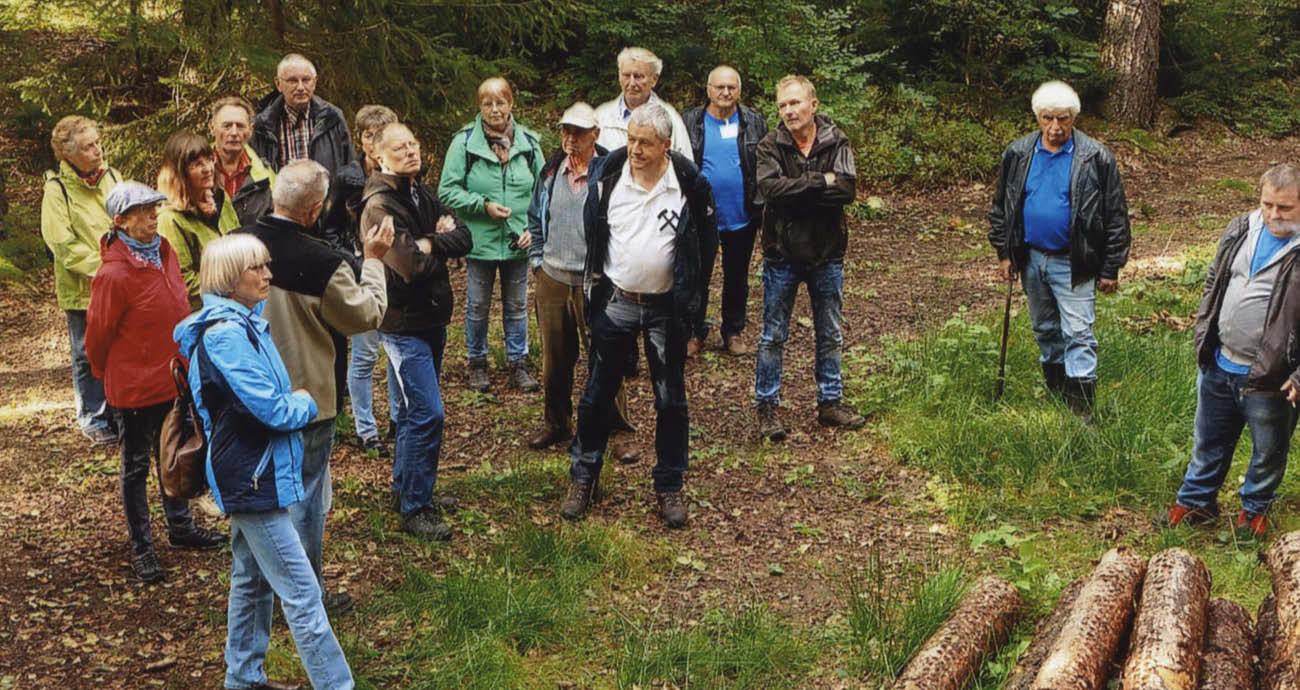 """Natur- und Bergbaulehrpfad """"Zum Hohen Forst"""""""