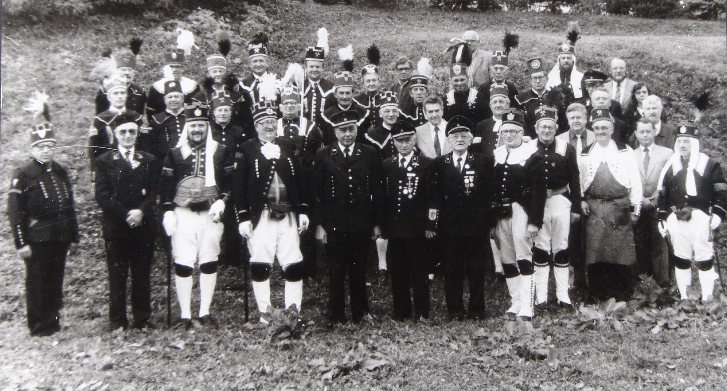 Foto der Teilnehmer der Gründungsversammlung des SLV am 20. Oktober 1990 Foto: Archiv des Landesverbandes