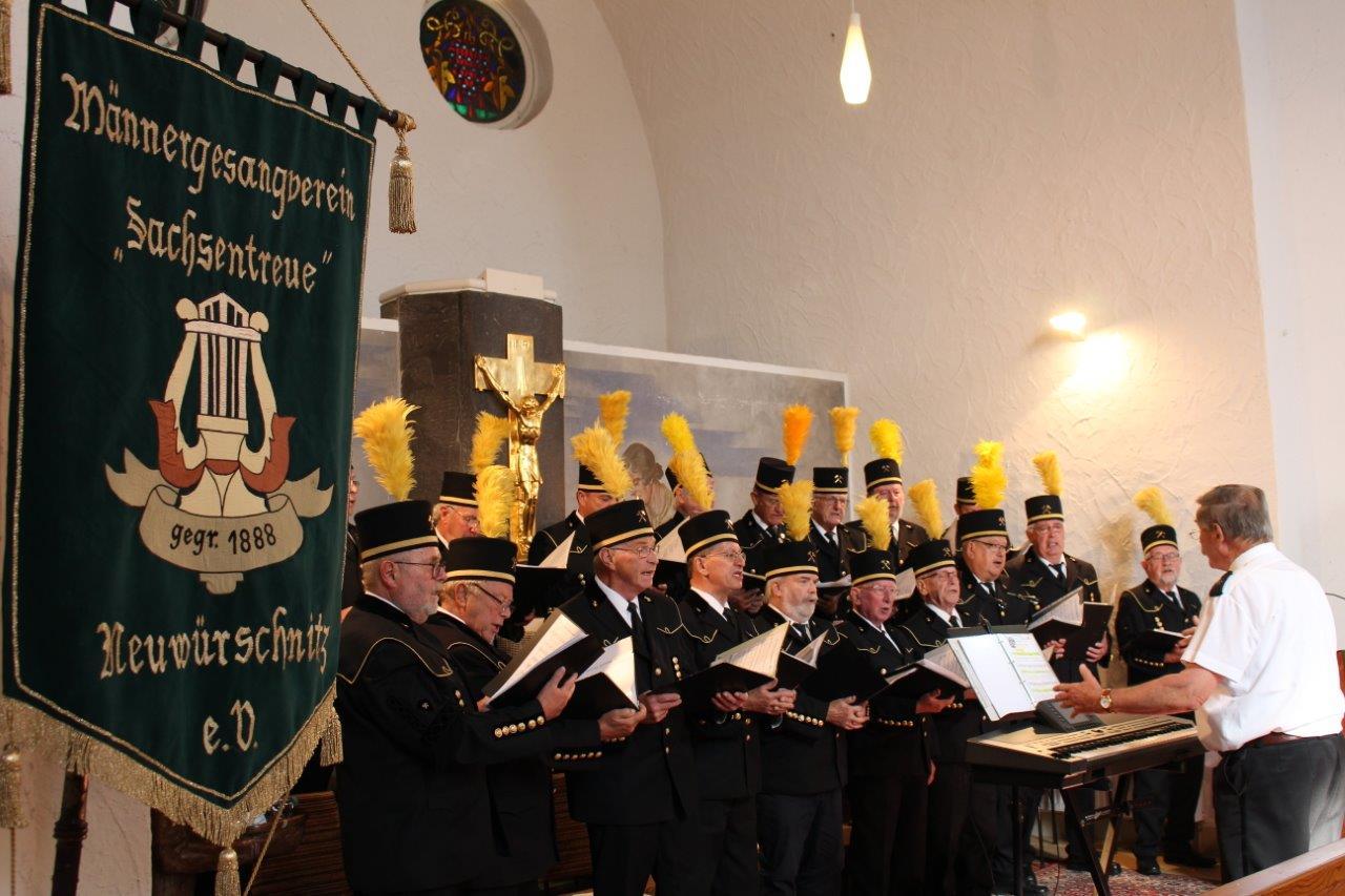 """Männergesangverein """"Sachsentreue"""" e.V. Neuwürschnitz"""